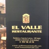 Foto tomada en Restaurante El Valle por CM300s T. el 3/11/2013