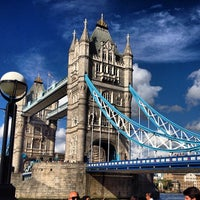 Photo taken at Tower Bridge by Дима on 7/28/2013