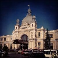 Photo taken at Lviv Railway Station by Vira P. on 7/16/2013