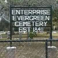 Photo taken at Enterprise Evergreen Cemetery by Joan H. on 12/1/2013