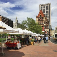 Photo taken at Copley Square Farmer's Market by Tyler M. on 5/12/2015
