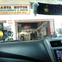 Photo taken at Jakarta Motor Auto Accesories Car Audio & Parts by Nancy Christine P. on 4/12/2017