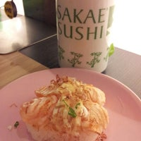 Photo taken at Sakae Sushi by Mandy G. on 11/23/2012