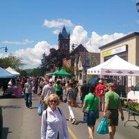Photo taken at Milton Farmer's Market by Alex C. on 5/24/2014