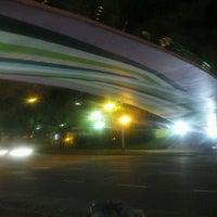 Photo taken at Abajo del Puente Av Figueroa Alcorta by Rodri P. on 10/23/2012