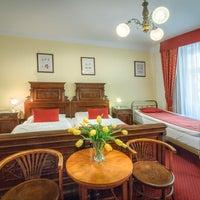 Photo taken at WALDSTEIN hotel **** by AVE hotels Prague on 2/7/2017
