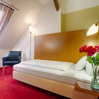 Photo taken at Hotel Theatrino by AVE hotels Prague on 7/22/2015
