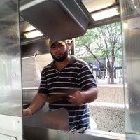 Photo taken at Mediterranean Halal Food Cart by khurram j. on 9/28/2012