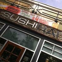 Photo taken at Sushi Hai by Kati on 6/24/2013