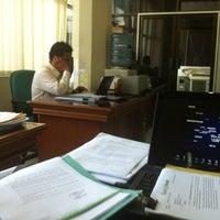 Photo taken at Divisi Penyelesaian Kredit by Reza I. on 10/30/2012