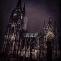 Photo taken at Cologne Cathedral by P on 1/4/2013