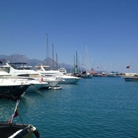 Photo taken at Kemer Türkiz Marina by Ertunç P. on 7/25/2013