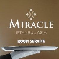 5/5/2013 tarihinde Berkay O.ziyaretçi tarafından Miracle Istanbul Asia Hotel & SPA'de çekilen fotoğraf