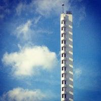 Photo taken at Stadionin torni by Dr T. on 4/27/2013