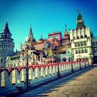 Снимок сделан в Измайловский кремль пользователем Николай Б. 6/18/2013
