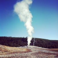 Photo taken at Old Faithful Geyser by K T. on 10/11/2012