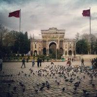 12/7/2012 tarihinde Bilge C.ziyaretçi tarafından İstanbul Üniversitesi'de çekilen fotoğraf