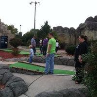 Photo taken at Professor Hackers Lost Treasure Golf by Kelly Y. on 10/13/2013