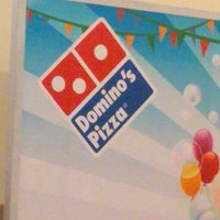 Photo taken at Domino's Pizza by reagan T. on 7/25/2013
