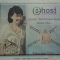 Photo taken at E-host by Fadilah Aulia R. on 11/12/2011