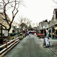 Photo taken at Olde Mystic Village by Spencer I. on 12/15/2012