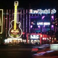 Photo taken at Hard Rock Cafe Las Vegas by Alejandro A. on 9/15/2012