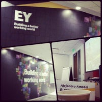 Photo taken at Ernst & Young by Alejandro A. on 11/13/2013