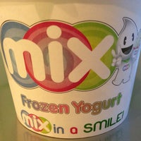 Photo taken at Mix Frozen Yogurt by Terrone C. on 3/9/2013