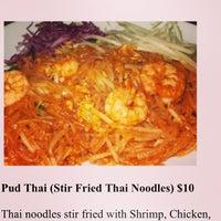 Photo taken at Bangkok Cuisine by Charles on 2/3/2013