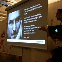 Photo taken at ImpactHub Stockholm by Nurlan E. on 11/4/2014