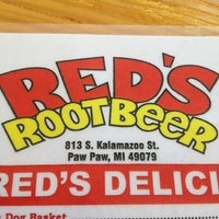Photo taken at Red's Root Beer by Joan O. on 7/19/2013