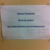 Photo taken at Bar do Toninho by Vinicius Y. on 12/14/2013