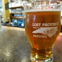 Photo taken at Lost Province Brewing Company by Joshua A. on 5/10/2017