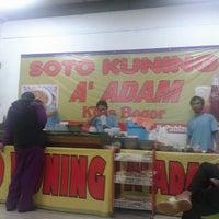 Photo taken at Soto Kuning A'Adam Khas Bogor by Erlanda S. on 3/6/2014