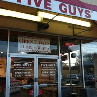Photo taken at Five Guys by Arturo on 2/18/2013