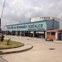 Photo taken at PEMEX Estación de Rebombeo Teocalco by Arturo M. on 7/17/2013