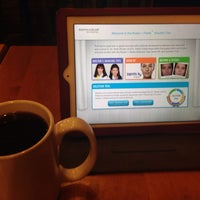 Photo taken at Caribou Coffee by Tammi C. on 2/17/2014