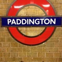 Photo taken at Paddington London Underground Station (District, Circle and Bakerloo lines) by Chris on 11/20/2012