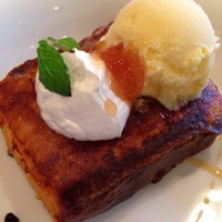 Photo taken at Cafe Lychee by Mayumi I. on 11/2/2013