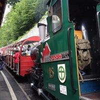 Photo taken at Brienz–Rothorn Bahn by Mayumi I. on 8/16/2014