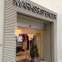 Photo taken at Marks & Spencer by Mayumi I. on 12/17/2012