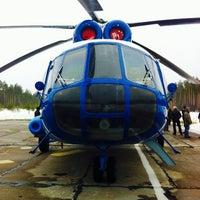 Photo taken at Восточно-перевальное месторождение вертолетная площадка. by Stas on 5/13/2014