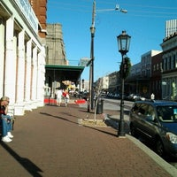 Photo taken at The Strand Historic District by Liz A. on 11/25/2012