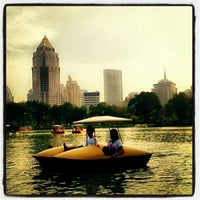 Photo taken at Lumphini Park by Bombay M. on 11/2/2012
