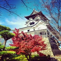 Photo taken at Inuyama Castle by Chase on 11/25/2012