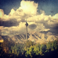 Photo taken at Milad Tower by Ahmad K. on 10/28/2012