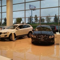 Photo taken at автосалон volvo by Александр К. on 10/11/2012