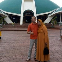 Photo taken at Masjid Jami' Al-Baitul Amien Jember by Arintya Y. on 7/10/2016