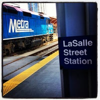 Photo taken at Metra - LaSalle Street by Bill H. on 5/7/2013