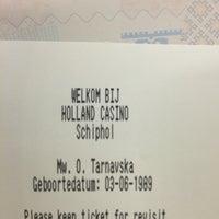 10/12/2014 tarihinde Olga T.ziyaretçi tarafından Holland Casino'de çekilen fotoğraf